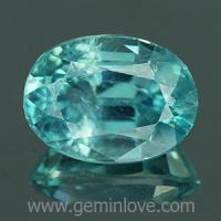 g1-594-7 Blue Zircon พลอยเพทาย
