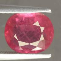 gemstone: ทับทิม-Ruby size: 9.0x7.7x3.8 carat: 2.60Ct.