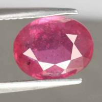 gemstone: ทับทิม-Ruby size: 9.7x7.8x4.2 carat: 3.19Ct.