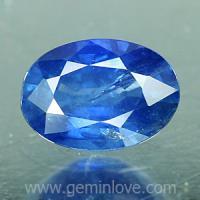 g1-651-3 Blue sapphire พลอยไพลิน