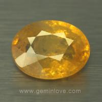 yellow sapphire พลอยบุษราคัม g1-724-5