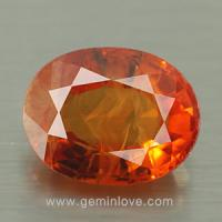 yellow sapphire พลอยบุษราคัม g1-725-1