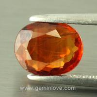 yellow sapphire พลอยบุษราคัม g1-725-3