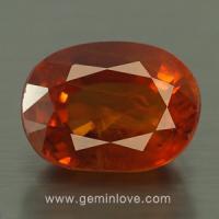 yellow sapphire พลอยบุษราคัม g1-725-5