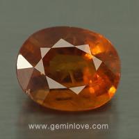 yellow sapphire พลอยบุษราคัม g1-725-7
