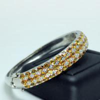 b2-334 Yellow Sapphire Bracelet
