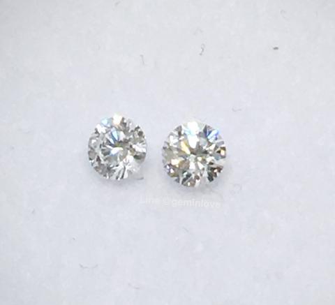 เพชรแท้ เพชรร่วง มีใบเซอร์ ราคาถูก diamond เบลเยี่ยมคัด รัชเชียนคัด 98 vvs