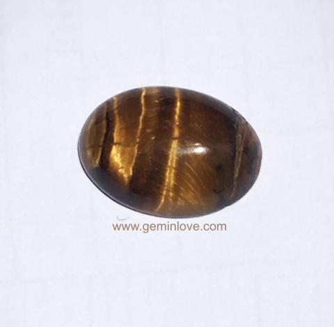 พลอยตาเสือ tiger's eye หินนำโชค พลอยบำบัด เสริมราศี แก้ชง ดูดวง หินสี แหวนเสริมดวง เครื่องราง