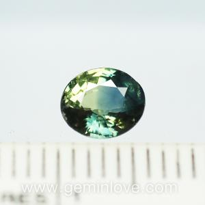 พลอยเขียวส่อง พลอยมรกต สีเขียว ดูดวง เสริมดวงวันพุธ แก้ชง เสริมราศีพฤษ green sapphire พลอยแท้  emerald พลอยธรรมชาติ พลอยจันทบุรี