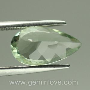 Green Amethyst Natural Gemstone พลอยอะเมทิสต์สีเขียวอ่อน พลอยดิบ g1-739