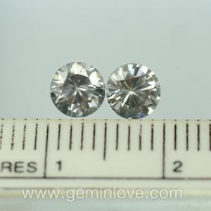 White Zircon พลอยเพทายขาวเหลี่ยมเพชร พลอยแท้ อัญมณีสีขาว ดูดวง เสริมดวง พลอยดิบ เพชร ราศี เมษ แหวนเพชร มีใบเซอร์ฯ