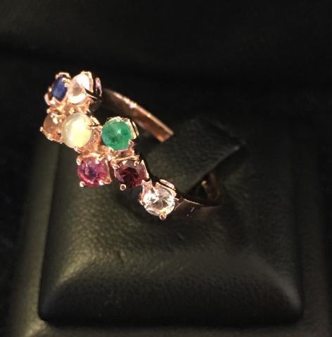 แหวน พลอยนพเก้า เพชร เพทาย ไพลิน ทับทิม มรกต บุษราคัม โกเมน มุกดาหาร ไพฑูรย์ พลอยเสริมดวง ดูดวง แก้ชง เสริมราศี เสริมธาตุ พลอยแท้