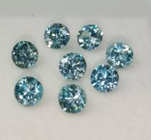 Blue Zircon ring พลอย เพทาย สีฟ้าเข้ม อัญมณี แก้ชง ดูดวง jewelry  พลอยเสริมดวง วันศุกร์ เสริมราศีธนู เพชร พลอยแท้ แหวน รับประกัน ของแท้ มีใบเซอร์