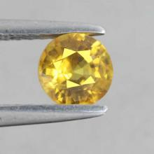 yellow sapphire พลอยบุษราคัม g1-374-29