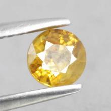 yellow sapphire พลอยบุษราคัม g1-374-63