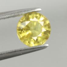 yellow sapphire พลอยบุษราคัม g1-375-35