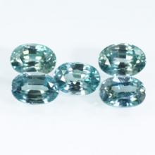 gemstone: เพทาย (Zircon) size: 7.0-7.5 x 5.0-5.5  carat: 7.15Ct.