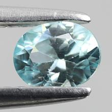 gemstone: เพทาย (Zircon) size: 5.9x5.0x3.6 carat: 0.88Ct.