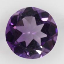 gemstone: แอเมทีสต์-Amethyst size: 7.0x7.0 carat: 1.20Ct.