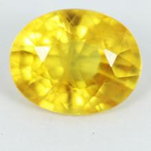 yellow sapphire พลอยบุษราคัม g1-488-19