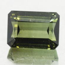 gemstone: กรีนทัวมาลีน-Green Tourmaline size: 8.7x6.3x5.5 carat: 2.76Ct.