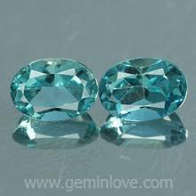 g1-594-35 Blue Zircon พลอยเพทาย