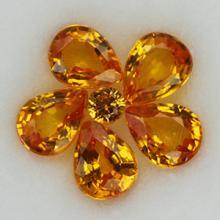 g1-620-3 yellow sapphire พลอยบุษราคัม