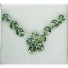 g1-620-5 green sapphire พลอยเขียวส่อง