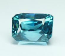 g1-672  พลอยเพทาย blue zircon