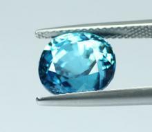 g1-673 Blue Zircon พลอยเพทาย
