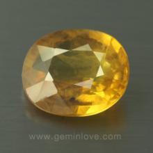 yellow sapphire พลอยบุษราคัม g1-724-10