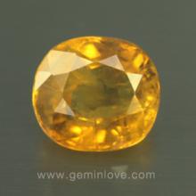 yellow sapphire พลอยบุษราคัม g1-724-11