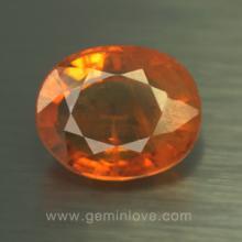 yellow sapphire พลอยบุษราคัม g1-724-12