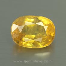 yellow sapphire พลอยบุษราคัม g1-724-2